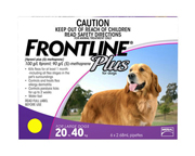 FRONTLINE PLUS FOR DOGS ANTIPARASITARIO PARA PERROS GRANDES
